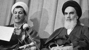 Iran repubblica rivoluzione islamica Ayatollah Khomeini Ruhollah Khomeini Ali Akbar Hashemi Rafsanjani