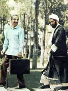 Iran Presidente Mohamed Ali Rajai Premier Mohammad Javar Bahonar