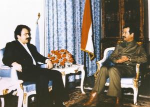 Massoud Rajavi MEK Iraq Saddam Hussein guerra Iran terrorismo