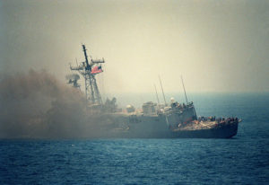 Nave USA USS STARK Iraq guerra Iran golfo Persico