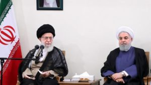 Guida suprema Iran ayatollah Ali Khamenei Presidente Iran Rouhani Rohani