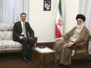 Presidente Siria Bashar al-Assad guida suprema Iran ayatollah Ali Khamenei
