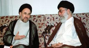 Presidente Iran Khatami ayatollah Khamenei