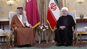 Qatar al-Thani Presidente Iran Rouhani Rohani golfo persico