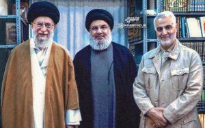 Guida suprema Iran ayatollah Ali Khamenei Hassan Nasrallah Hezbollah Libano Generale Qasem Soleimani IRGC Pasdaran