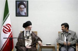 ayatollah Khamenei Presidente Iran Ahmadinejad