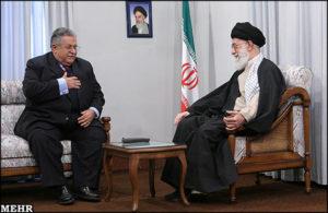 Presidente Iraq Talabani ayatollah Khamenei Iran