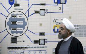 Presidente Iran Rohani centrale nucleare