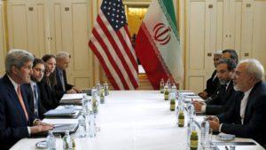 Segretario stato USA Kerry Ministro esteri Iran Zarif negoziati nucleare JCPOA gruppo 5+1