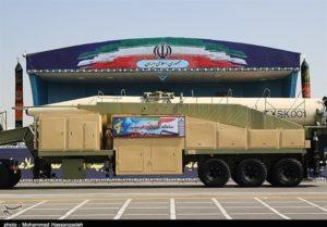 Iran missile Khorramshahr
