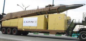 Iran missile Sejil