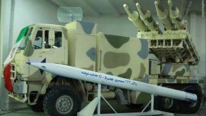 Iran razzi Fajr-5