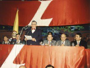 Presidente Colombia Julio Cesar Turbay partito liberale