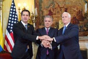 Presidente Colombia Ivan Duque USA Pence Guaidò Venezuela