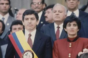 Presidente Colombia Cesar Gaviria