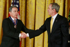Presidente Colombia Alvaro Uribe e Presidente USA George Bush