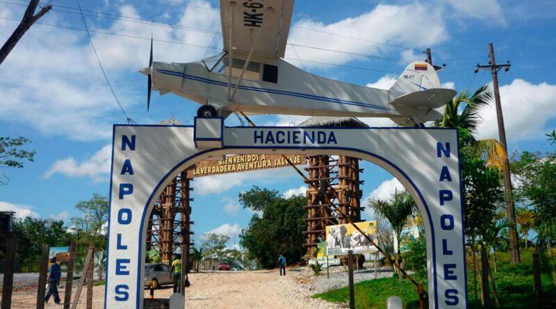 Hacienda Napoles narcos Pablo Escobar Gustavo Gaviria Cartello Medellin Zoo