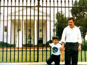 Pablo Escobar figlio Juan Pablo USA casa bianca