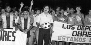 Pablo Escobar calcio Medellin