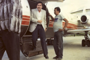 Pablo Escobar jet narcos cartello Medellin