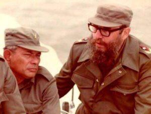 Tomas Borge Fidel Castro Nicaragua sandinisti Cuba