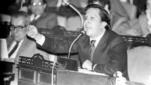 Ministro giustizia Colombia Rodrigo Lara Bonilla