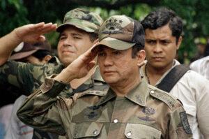 Presidente Panama Manuel Noriega narcos colombiani Cartello Medellin