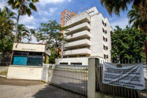 Edificio Monaco Pablo Escobar Cartello Medellin narcos Colombia attentato ETA