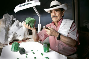 Victor Carranza smeraldi Colombia guerra verde Gonzalo Rodriguez Mexicano Molina