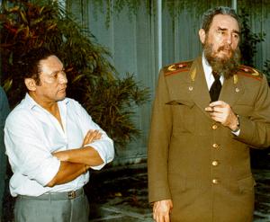 Manuel Noriega Panama narcos Colombia Cuba Fidel Castro USA