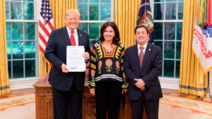 Francisco Santos Colombia Trump USA