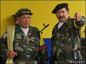 Manuel Marulanda Victor Suarez guerriglia FARC Colombia