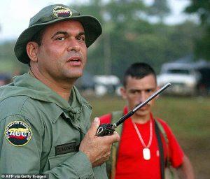 Salvatore Mancuso paramilitari AUC Colombia narcos
